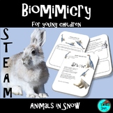 STEAM - Biomimicry for Young Children - Animals in Snow