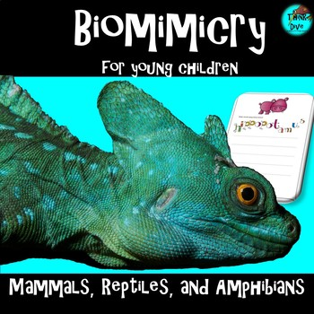 STEM - Biomimicry for Young Children - Mammals, Reptiles a