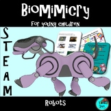 Project based learning: Robots  - STEAM, Biomimicry, NGSS,