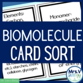 Biomolecule Card Sort