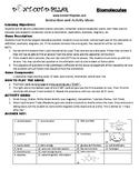 Biomolecules Game Puzzle with Worksheet