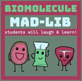 Biomolecules Mad-Lib Activity