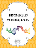 Biomolecules Matching Cards