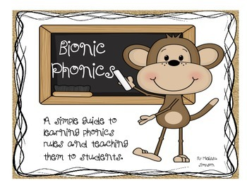 Bionic Phonics, Phonics Guide