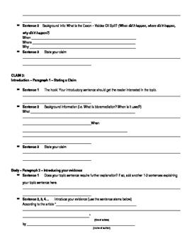 Bioremediation Argumentative Essay (CCLS)