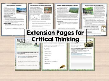 Environmental Science Bundle for Distance Learning