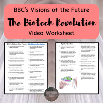 Biotech Revolution Video Questions