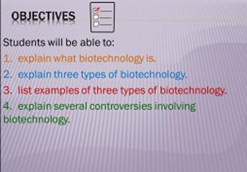 Biotechnology (Genetic Engineering & Cloning) Animated PowerPoint