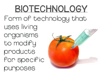 Biotechnology/Natural Selection Word Wall