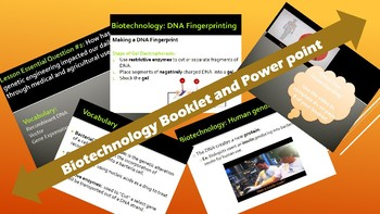 Biology: Biotechnology Powerpoint & Student Booket