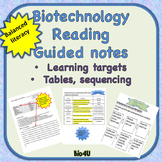 Biotechnology Reading and Guided Notes