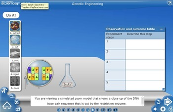 Biotechnology:Genetic Engineering  Fusion Virtual Lab