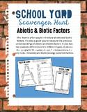 Biotic / Abiotic Schoolyard Scavenger Hunt