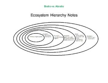 Biotic and Abiotic Ecosystem Factors