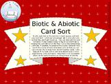 Biotic and Abiotic Editable Card Sort