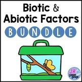 Biotic and Abiotic Factors: Activity BUNDLE