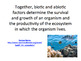 Biotic and Abiotic Factors, SMART notebook presentation