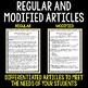 Biotic and Abiotic Factors  - Science Literacy Article