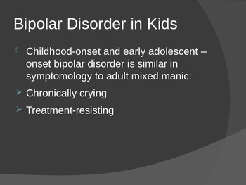 Bipolar Disorder and Cognitive-Behavior Therapy