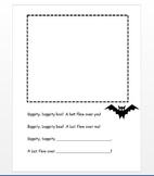 Bippity Bat Rhyming Craft