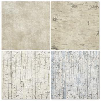 Rustic Birch Tree Digital Paper, Wood Grain Background ... | 350 x 350 jpeg 42kB
