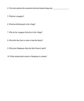 Birchbark House Assessment