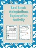 Bird Beak Adaptations Exploration