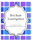 Bird Beak Adaptations Investigations