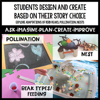 Bird Beak STEM Activities and Pollination STEM Challenge