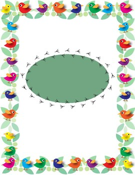 Bird Binder Cover