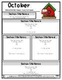 Bird & Bird House - Editable Newsletter Template - #60Cent
