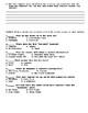 Bird Box by Josh Malerman Chapters 2-4 Worksheet/Assessments