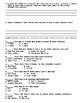 Bird Box by Josh Malerman Chapters 29-32 Worksheet/Assessment