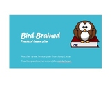 Bird-Brained preschool lesson plan