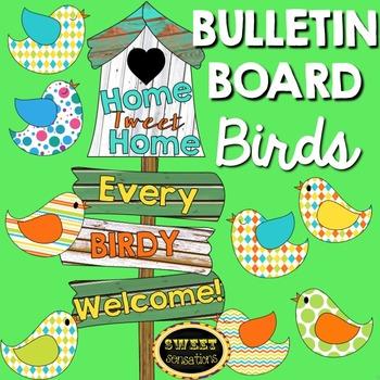 Bird Bulletin Board Set