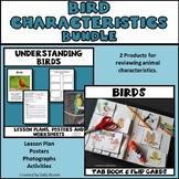 Bird Bundle - Lesson Plan, Photos, Worksheets and Activities