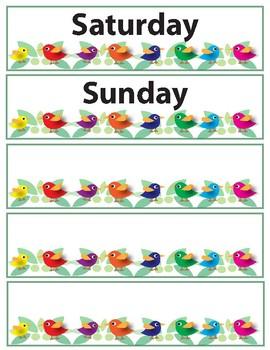 Bird Calendar