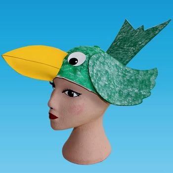 Bird Cap for Halloween