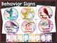 Bird Classroom Decor: Behavior Chart in Watercolor Bird Theme