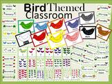 Bird Classroom Theme 88 page Bundle