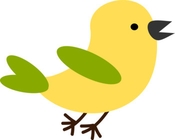 Bird Clip Art - 10 total *Freebie* Commercial Use OK