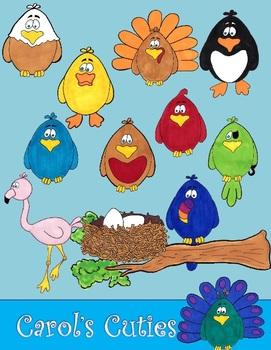 Bird Clip Art -For the Birds Clip Art Collection
