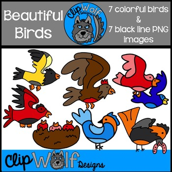 Bird Clip Art: Personal and Commercial Use
