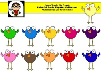 Bird Clipart Collection for Personal or Commercial Use
