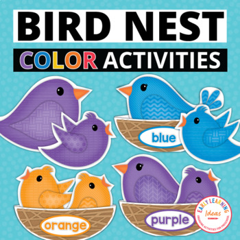 Bird Color Sorting And Math Activities For Preschool And Prek Tpt