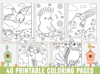 Bird Coloring Pages 40 Printable Bird Coloring Pages For Kids Boys Girls