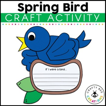 Spring Bird Craftivity