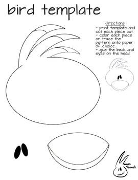 Bird Cutout Template