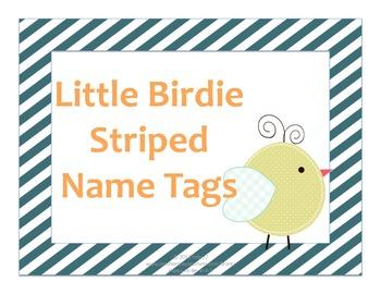 Bird Desk Name Tags