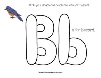 Bird Dough Mats